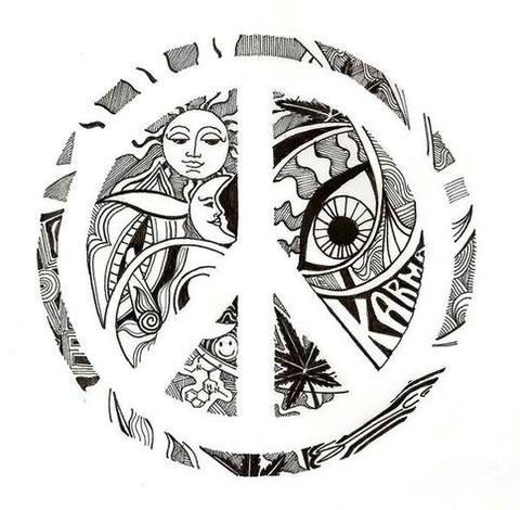 Peace Tattoo Designs Images amp Pictures Becuo