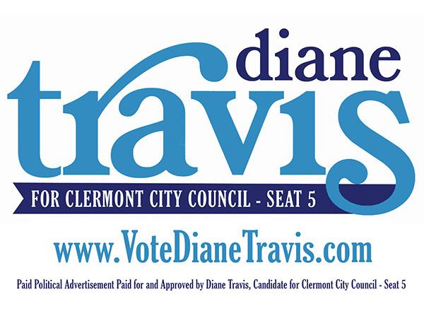 Diane travis clermont city council campaign on behance business card colourmoves