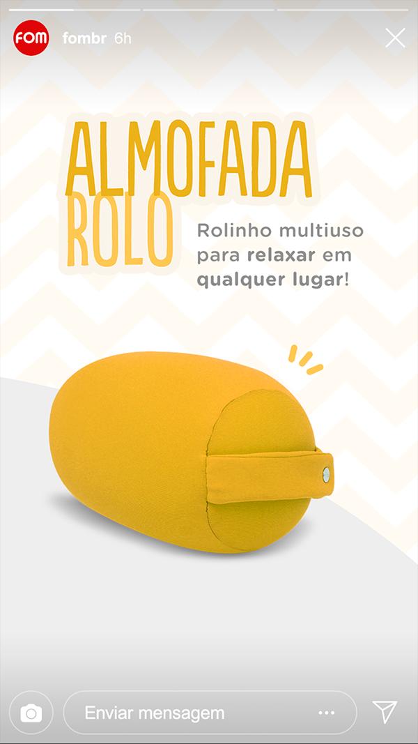 Almofada Rolo | FOM