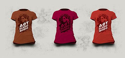 tipography ilustration david espinoa vintage tshit t-shirt