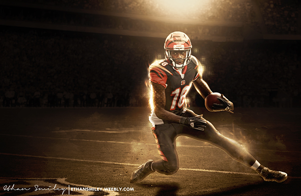AJ Green Wallpaper On Behance