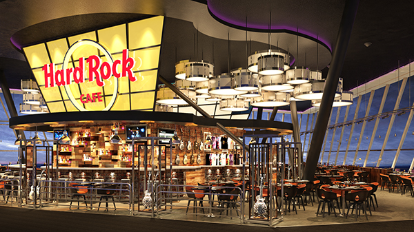 Hard rock cafe on behance for Is it hard to become an interior designer