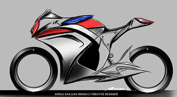 Honda motorcycles concept sketches on behance collection of different concepts focused on the honda motorcycles brand from super sport to maxi scooters publicscrutiny Choice Image
