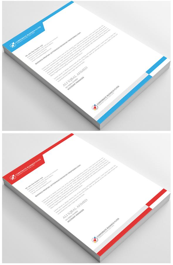 free download letterhead format