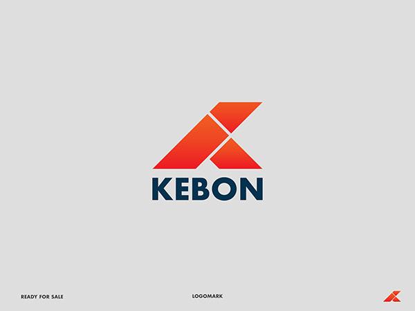 K Lettermark Modern Logo