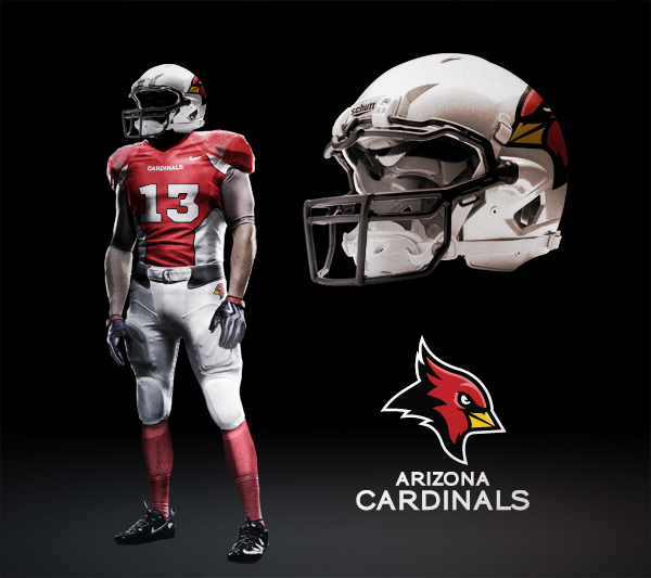 03ab9320a430 Application - Helmet and Player Templates by Fraser Davidson. Save to  Collection. Follow Following Unfollow. Arizona Cardinals