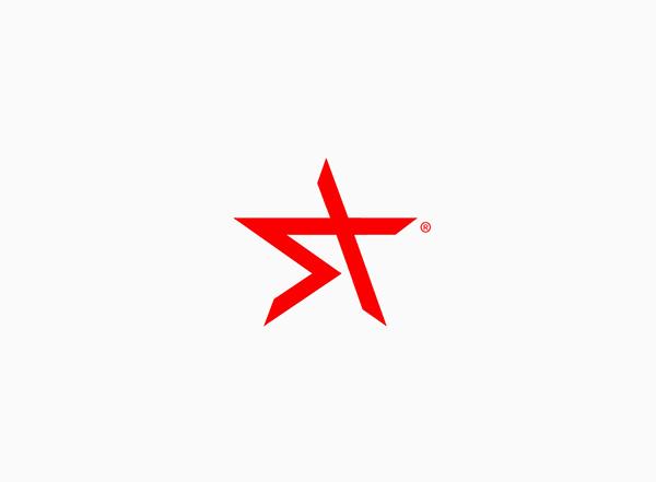 telecomunication Telecom network system integrator red logo star minimal technologies computers IT solutions provider hi-tech Internet