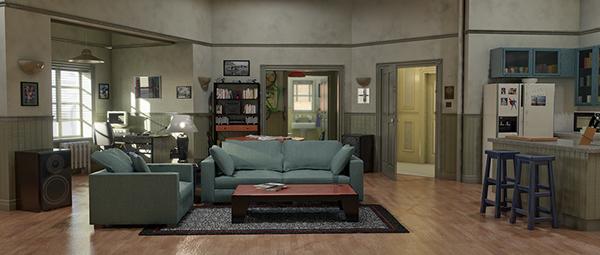 Seinfeld apartment on Behance
