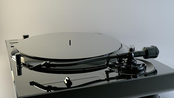 umair aftab turntable 3D model