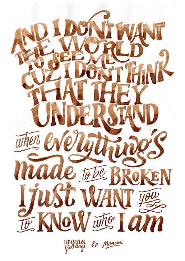 Coffee Quote On Behance
