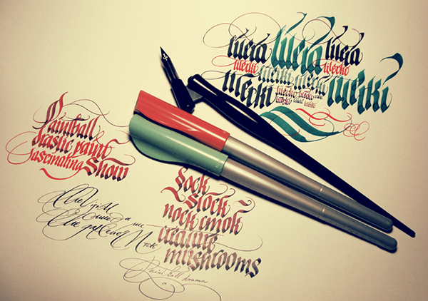 Pilot parallel pen on behance Pilot parallel calligraphy pen