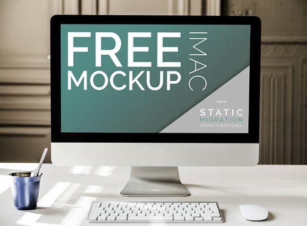 Free Imac Mockups on Behance