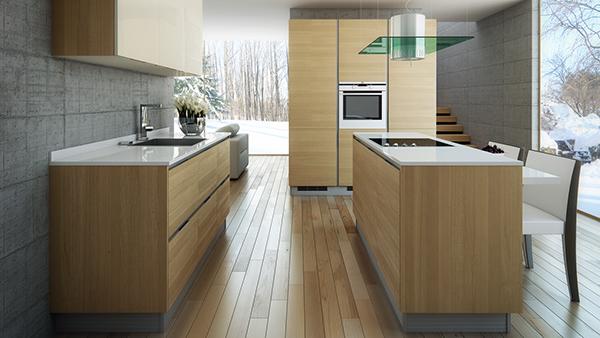 Great Zurich Kitchen Model   Inset Handle Design