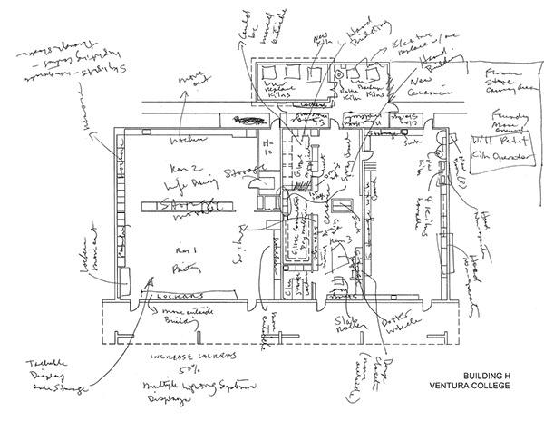 schematic design proposal for ventura community college on