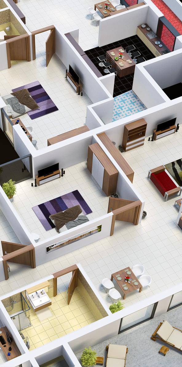 isometric floor plan on behance