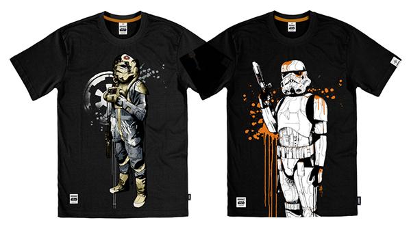 Addict Clothing  Mitchy Bwoy star wars  Lucasfilm Addict Clothing Mitchy Bwoy Lucasfilm