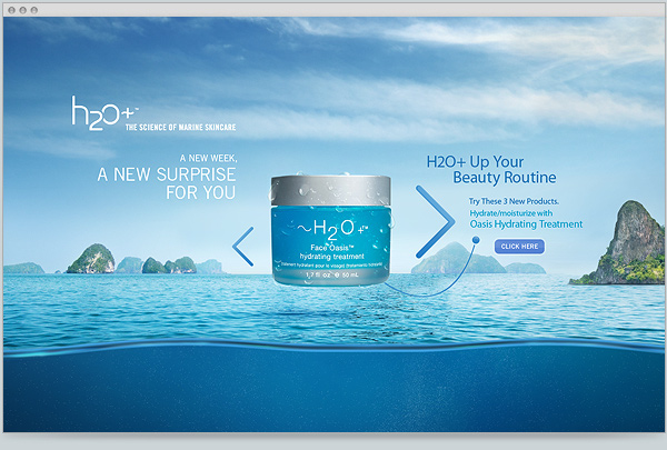 Product Description H2O+ Beauty's Oasis Ultra Hydrating Cream is a luxurious water-gel cream.