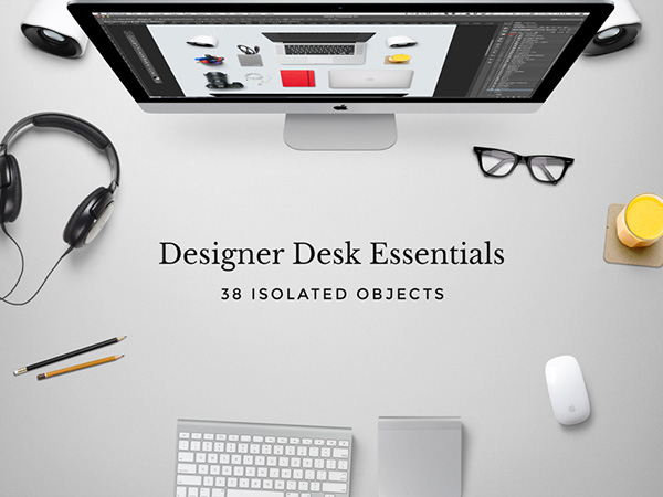 grab this freebie - Graphic Design Desks