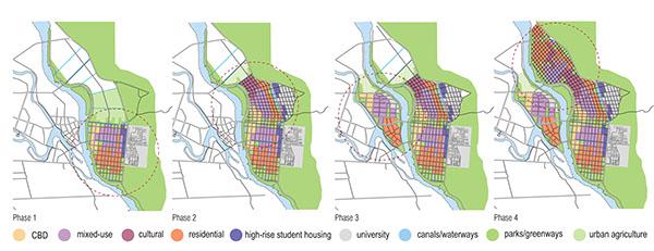 urban design planning on behance Urban Planner Kevin Lynch