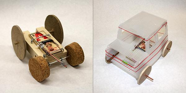 Mousetrap car on behance