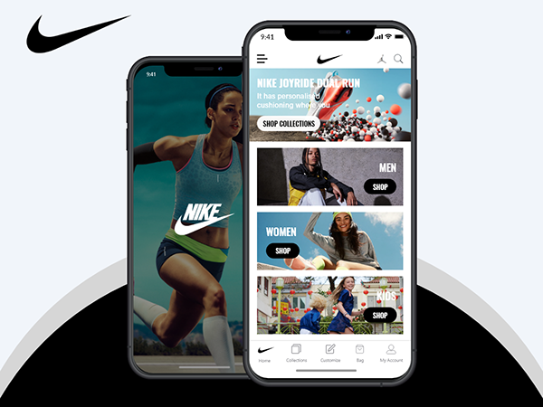 Nike App Redesign Concept- app contest on uplabs