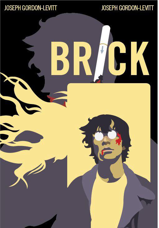 brick movie poster on behance