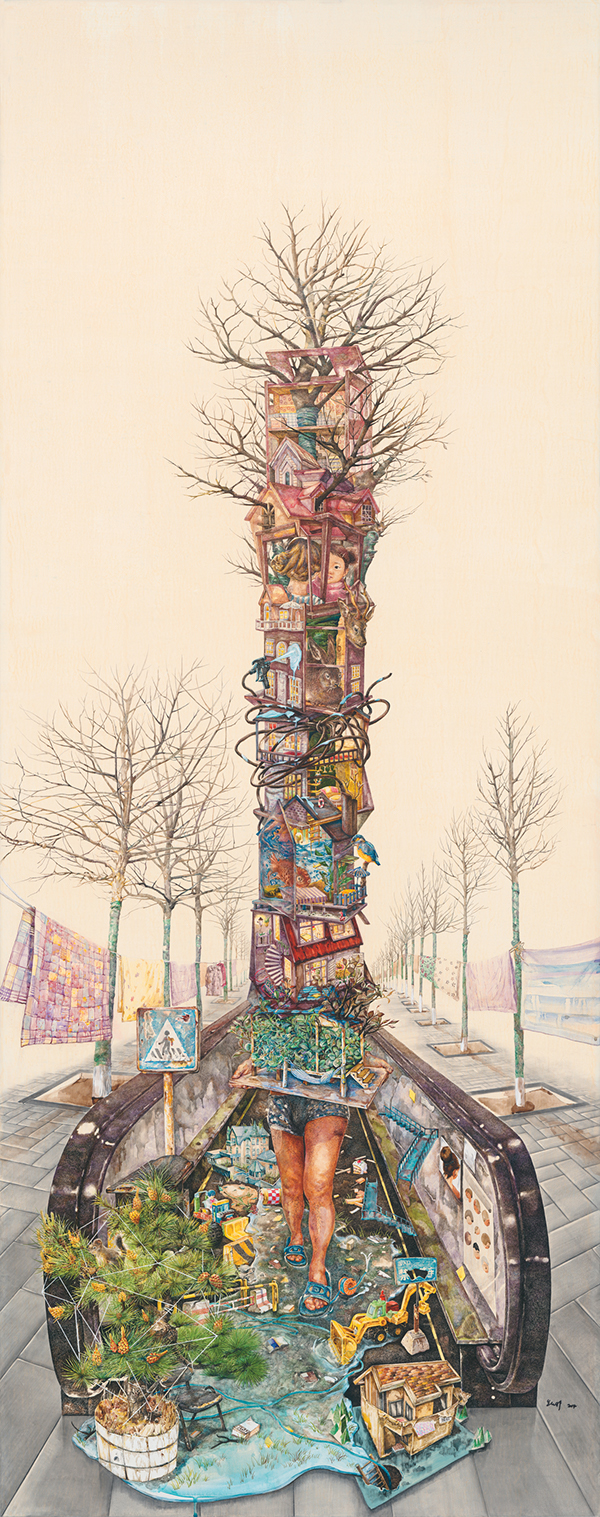 zhao na    Illustration, Fine Arts, Drawing #artpeople