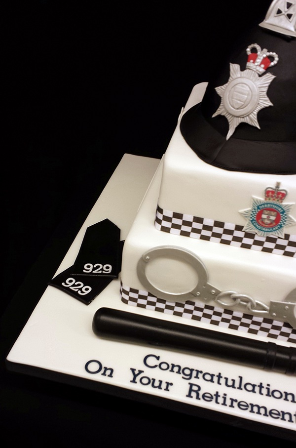 Police Retirement Cake on Behance