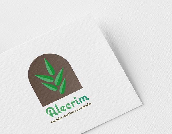 Criação da logo marca Alecrim.