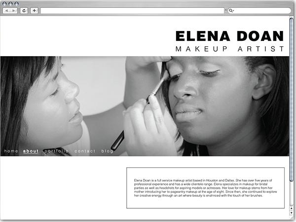 Logo Makeup Artist Websites