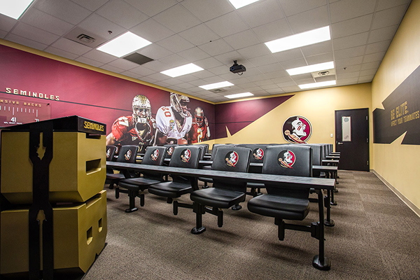 Florida State Football On Scad Portfolios