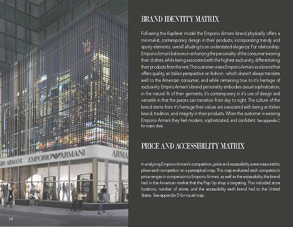 armani retail marketing plan What is retail operations every time you enter a retail store, your shopping experience has been extensively planned,  master's degrees in retail marketing.