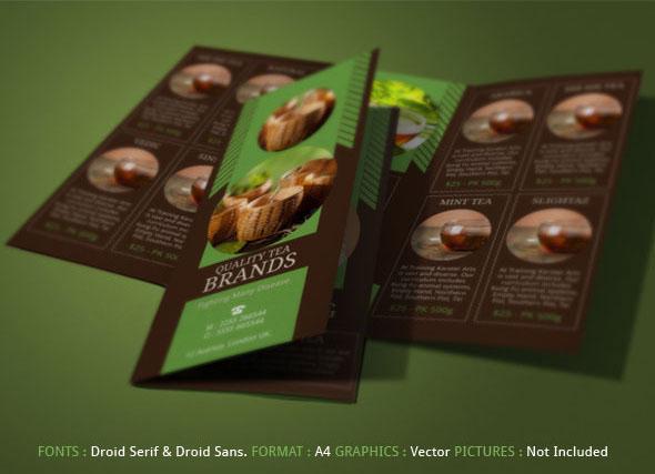best tea brochure for tea store