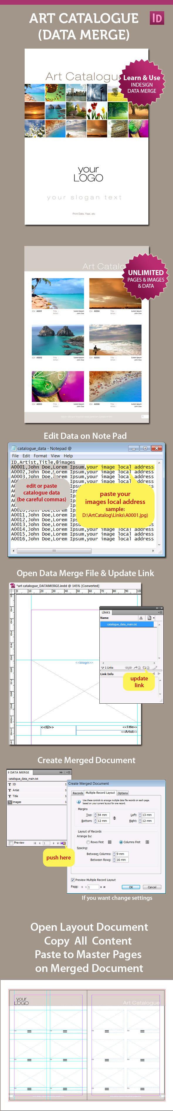 Indesign data merge images
