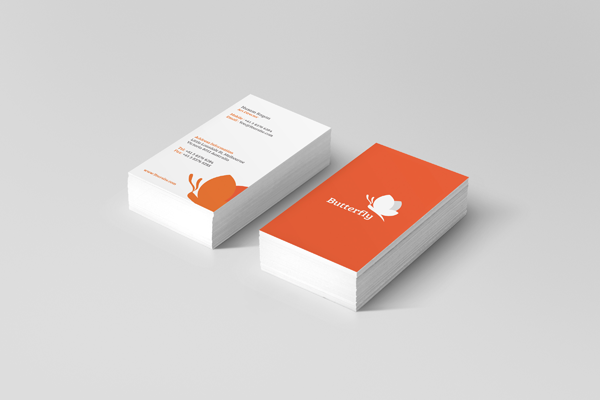 Butterfly business cards vol 2 on behance reheart Images