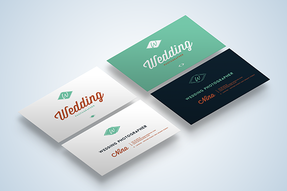 Wedding photographer business cards on behance reheart Image collections