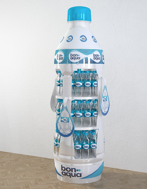 Used Exhibition Stand For Sale : Bonaqua various trade equipment on behance
