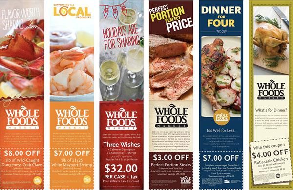 Whole Foods Print Ads
