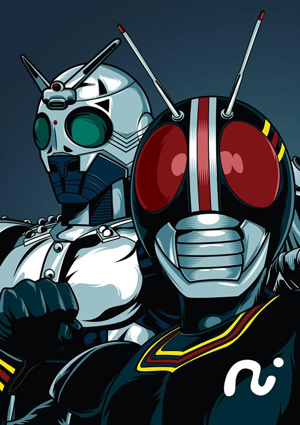 Kamen Rider Black Poster Fan Art on Behance