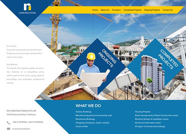 construction construction website Construction Web Design Construction Web UI