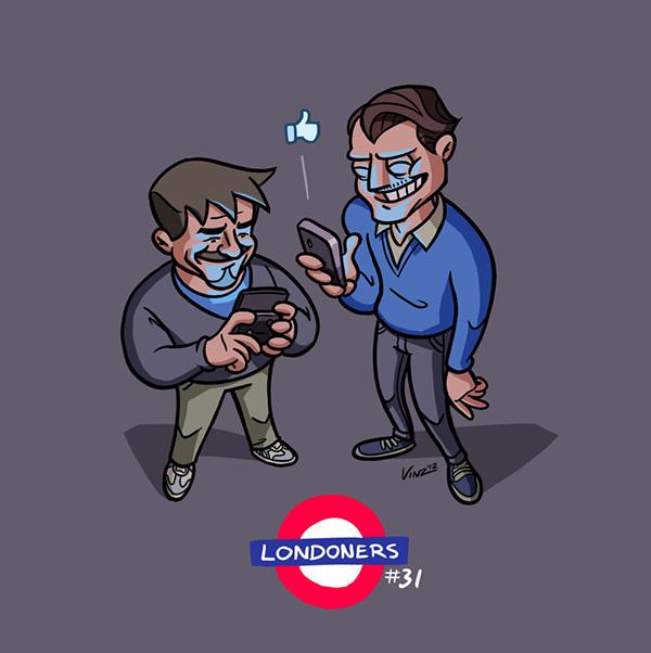 londoners vinzend mediamonks wetering vincent London characters