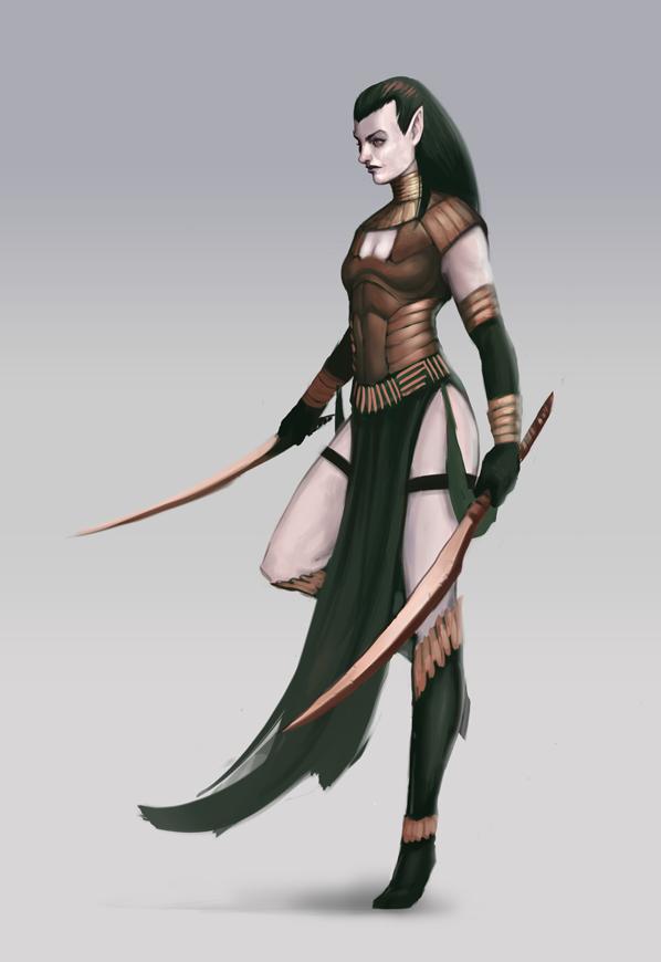 Dark Elf Blade Dancer