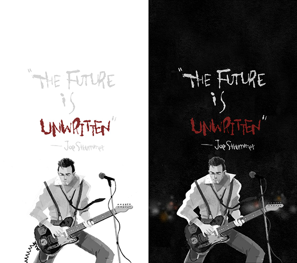 """The Future Is Unwritten "" on Behance"