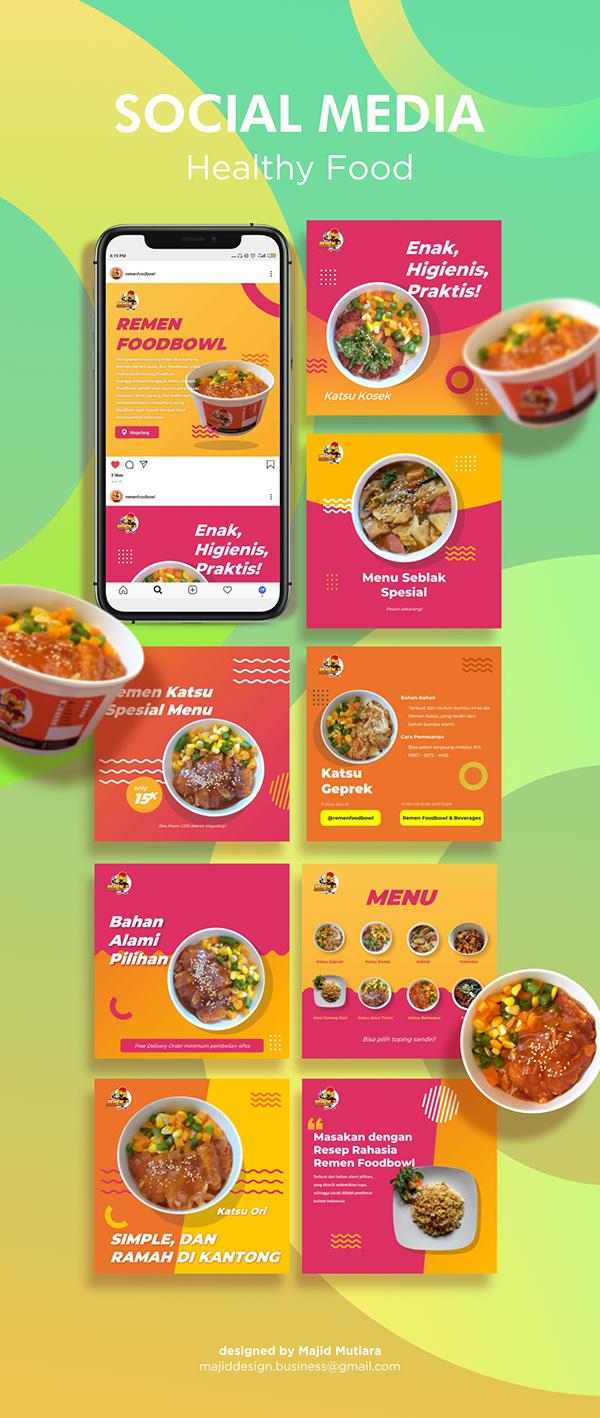 Instagram Post - Healthy Food