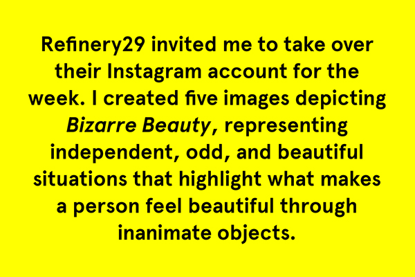 bizarre beauty Refinery29 manicure hairstyle banana nikeairmax90