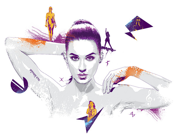 Katy Perry on Behance