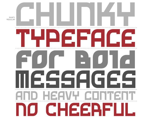 Opentype constructivist modular square Rigid Cyrillic
