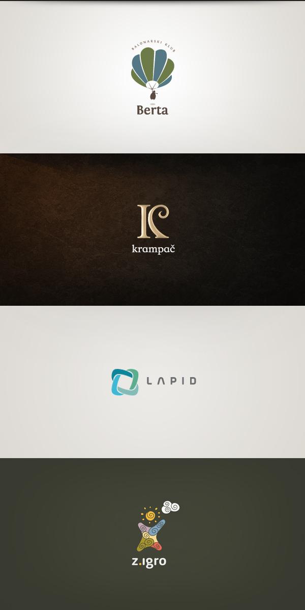 just promana krampac cannabits klekl berta orior logos design lapid Trik