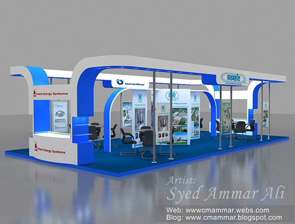 Exhibition Stall On Behance : Huawei stall dubai expo on behance exhibition exhibition