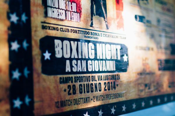 pugilato Boxing poster